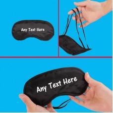 Personalised Unisex Eye Mask / Sleep Mask for Sleeping