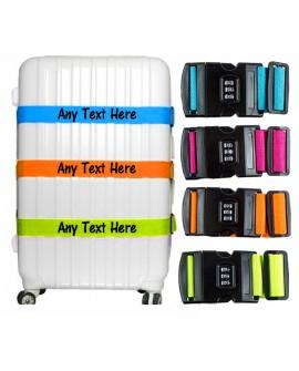 Personalised Luggage Strap printed Suitcase Safe Luggage Combination Lock
